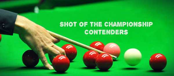world snooker championship 2017 best shots