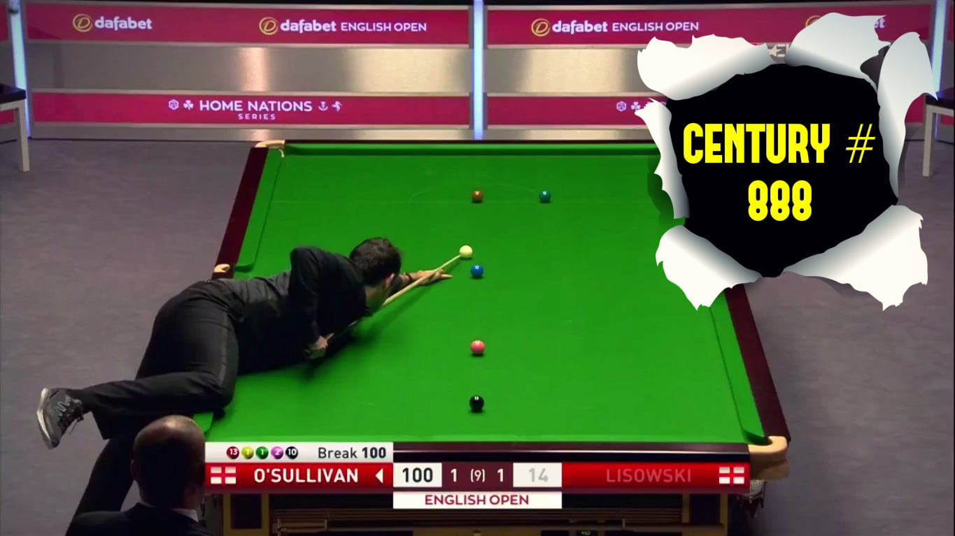 Ronnie O'Sullivan Century Break 888