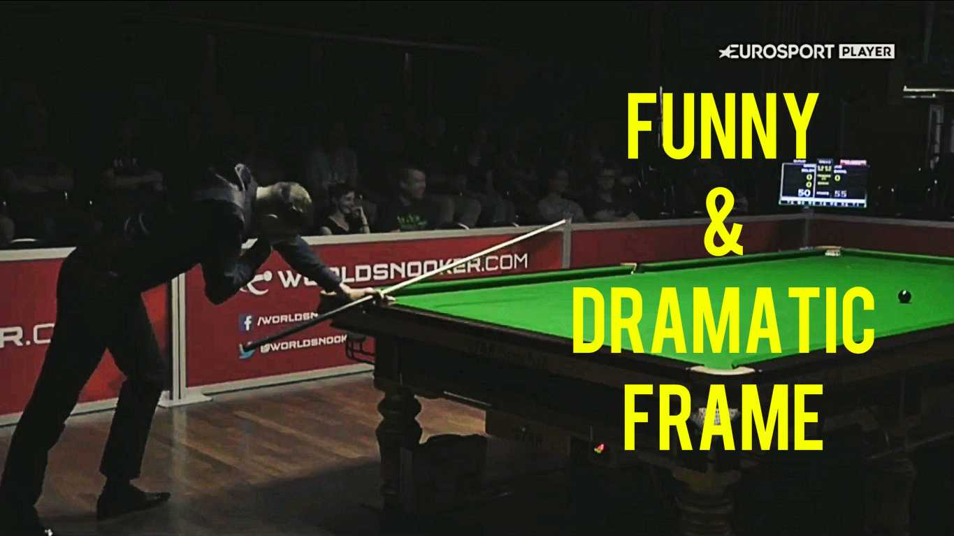 Mark Selby vs Joe Swail Funny Frame (Final Black)