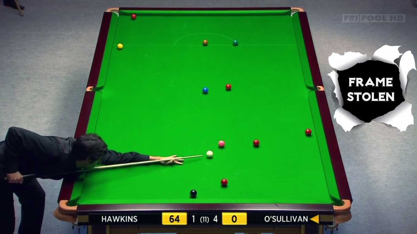 Ronnie O'Sullivan Epic Frame Stealing Clearance