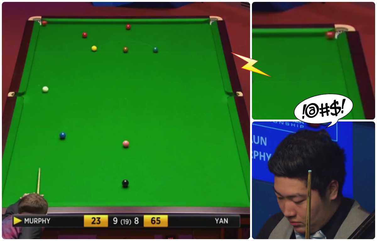 The Most Fortunate Way To Win A Snooker Match Ever?!
