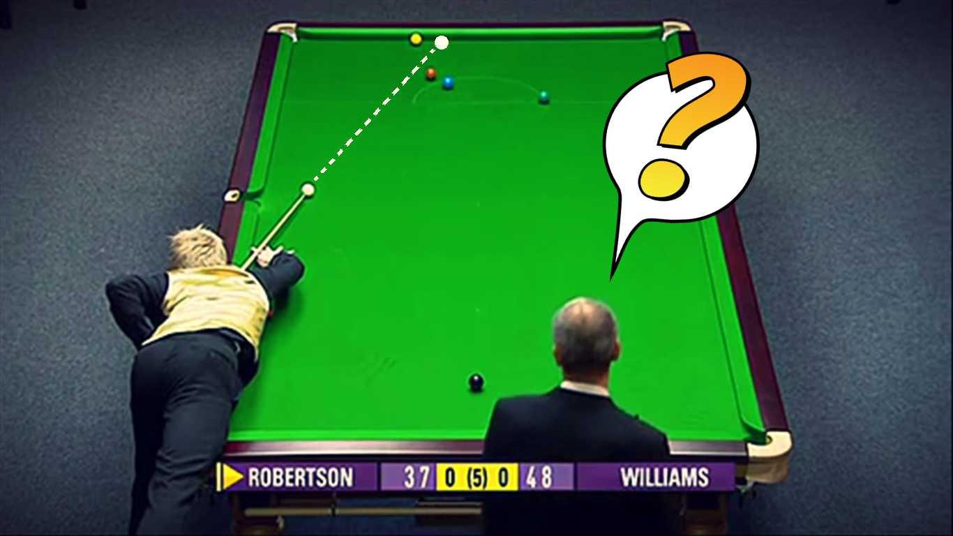 Snooker's Unlucky Shots