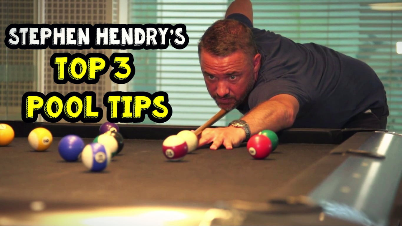 TOP 3 POOL TIPS | STEPHEN HENDRY