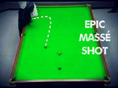 Jimmy white's legendary masse shot
