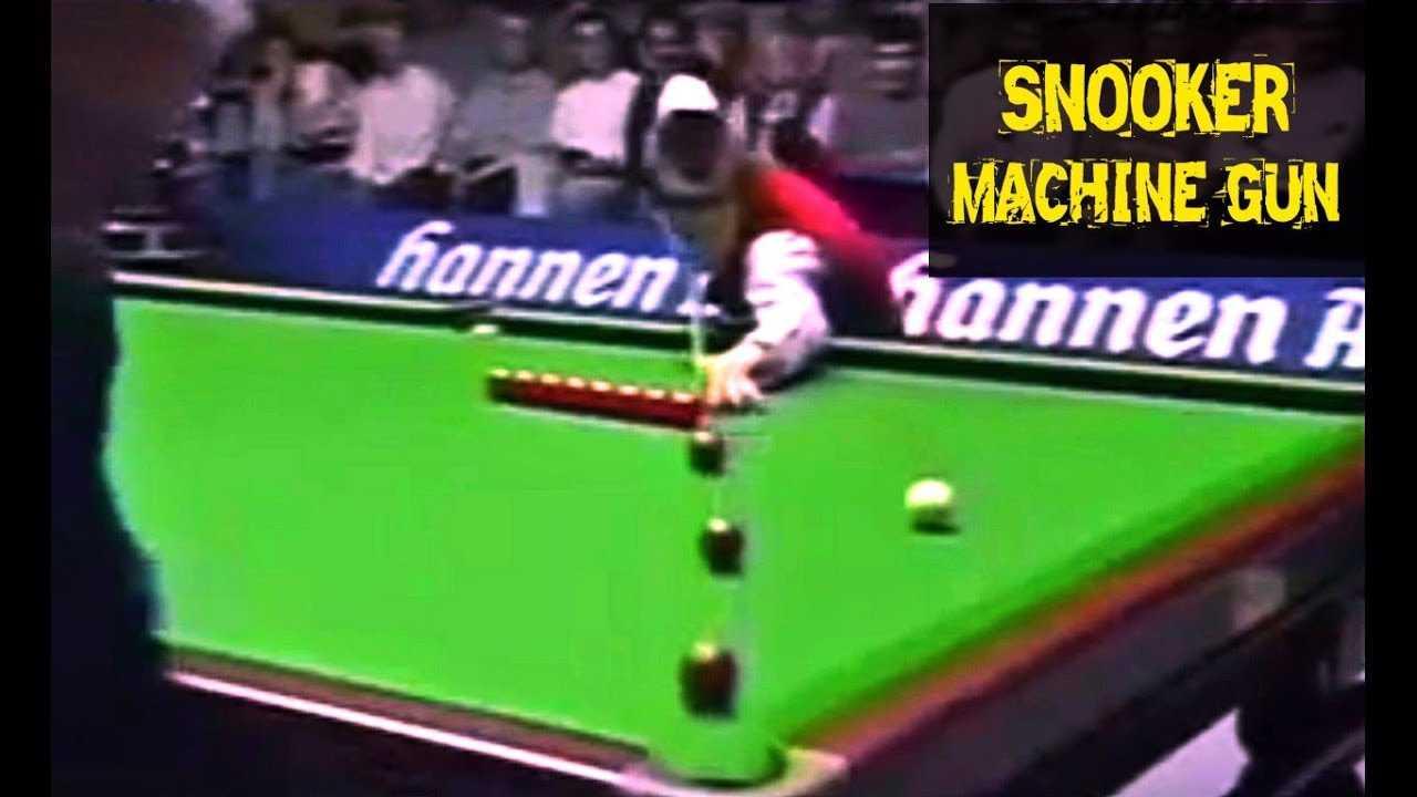 The Snooker Machine Gun - Ken Dahlke