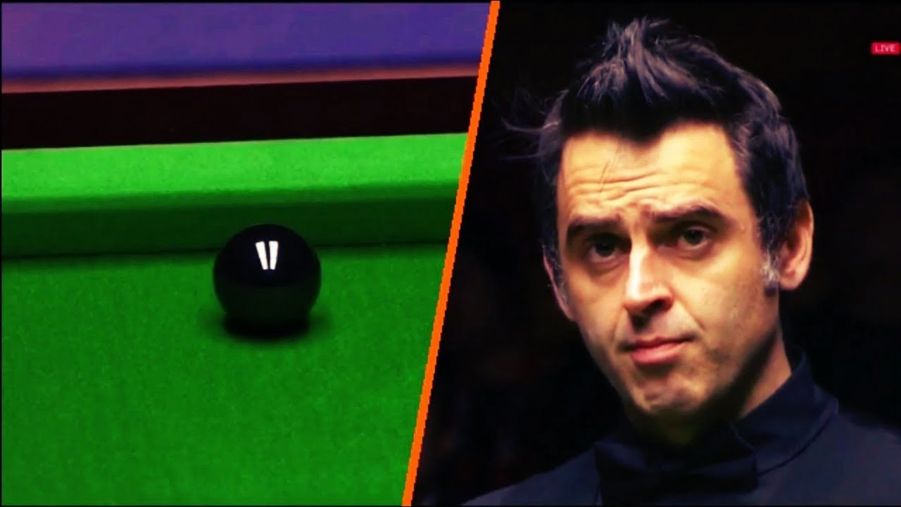 Ronnie O'Sullivan FRAME STEAL vs John Higgins | FINAL BLACK DRAMA