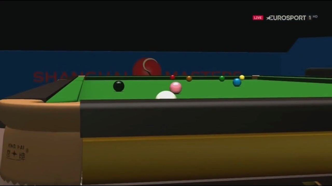 Judd Trump vs Jack Lisowski | Dramatic Frame | Respotted Black | Shanghai Masters 2017 SF