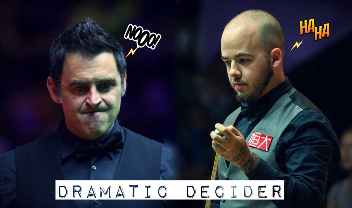 Ronnie O'Sullivan vs Luca Brecel DRAMATIC DECIDER | China Championship 2017