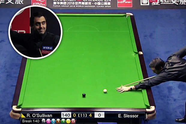 Ronnie O'Sullivan's 14th Career Max 147 - China Open 2018