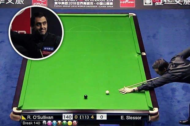 Ronnie O'Sullivan's 14th Career Max 147 - China Open 2018